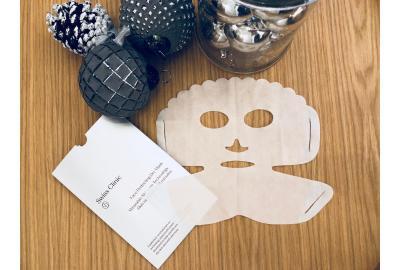 En innovativ, tør ansigtsmaske